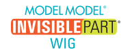 Model Model Invisible Part Wigs