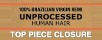 Sensationnel Unprocessed Brazilian Virgin Remy Weave - Closure
