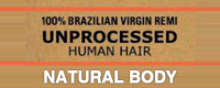 Sensationnel Unprocessed Brazilian Virgin Remy Weave - Natural Body