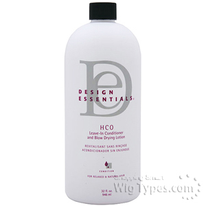 Design Essentials HCO Leave in Conditioner and Blow Drying Lotion 32oz