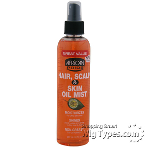 African Pride Hair Scalp & Skin Oil Mist 8oz