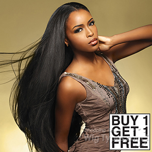 Sensationnel 100% MALAYSIAN Virgin Remi Bundle Hair Bare & Natural - NATURAL STRAIGHT 16 (Buy 1 Get 1 FREE)