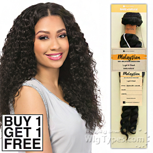 Sensationnel 100% MALAYSIAN Virgin Remi Bundle Hair Bare & Natural - FRENCH TWIST 14 (Buy 1 Get 1 FREE)