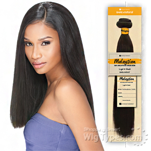 Sensationnel 100% MALAYSIAN Virgin Remi Bundle Hair Bare & Natural - YAKI