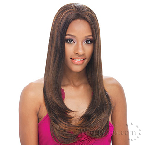 Janet Collection Black Pearl Full Lace Wig - ORCHID
