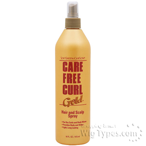 Care Free Curl Hair and Scalp Spray 16oz