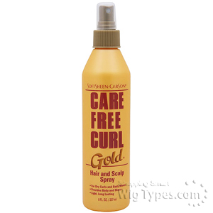 Care Free Curl Hair and Scalp Spray 8oz