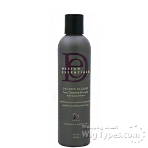 Design Essentials Organic Cleanse Deep Cleansing Shampoo 8oz