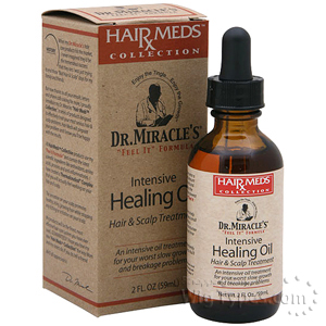 Dr.Miracle's Hair Meds Intensive Healing Oil 2oz