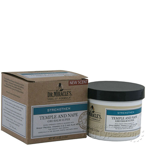 Dr.Miracle's Temple And Nape Gro Balm - Super 4oz