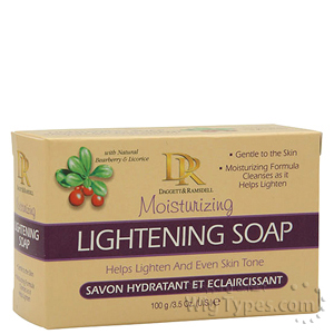DR Moisturizing Lightening Soap 3.5oz