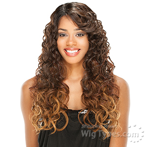Freetress Equal Synthetic Hair Lace Deep Invisible L Part Lace Front Wig - Enya