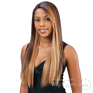Freetress Equal Synthetic Hair Lace Deep Invisible L Part Lace Front Wig - SIMPLY