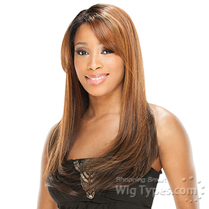 Freetress Equal Synthetic Hair Lace Deep Invisible L Part Lace Front Wig - YULIYA