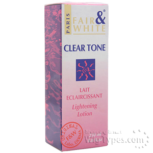 Fair & White Clear Tone Lightening Lotion 8.8oz