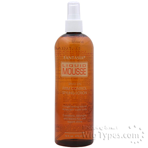 Fantasia Liquid Mousse Spray On Firm Control Styling Lotion 16oz