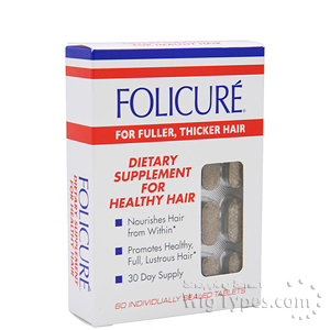 Folicure Dietary Supplement to Nourish Hair (60 tablets)