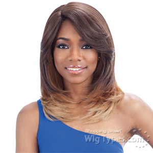 Freetress Equal Synthetic Hair Deep Invisible L Part Lace Front Wig - HEAVEN