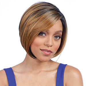 Freetress Equal  3 Way Lace Part Synthetic Hair Lace Front Wig - GLORY (futura)