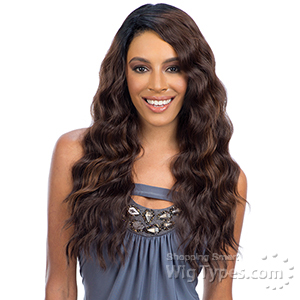 Freetress Equal Synthetic Hair Deep Diagonal Part Lace Wig - BRAZILIAN FLIRTY DEEP