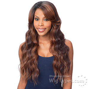 Freetress Equal Synthetic Hair Deep Diagonal Part Lace Wig - PEACH BLOSSOM