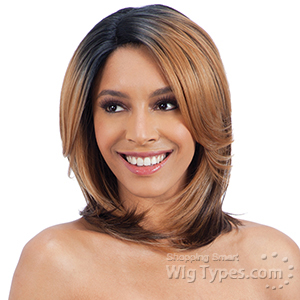 Freetress Equal Synthetic Hair Lace Deep Invisible Diagonal Part Lace Front Wig - SPRING BLOSSOM