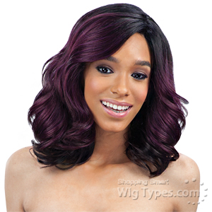 Freetress Equal Synthetic Hair Lace Deep Invisible L Part Lace Front Wig - PETAL BLOSSOM