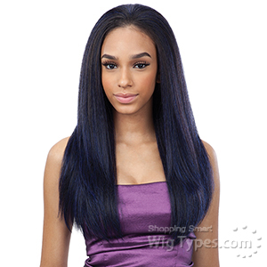 Freetress Equal Synthetic Half Wig - DRAWSTRING FULLCAP - FLATTER GIRL 24 (futura)