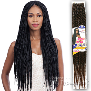 Freetress Synthetic Braid - LONG LARGE BOX BRAID