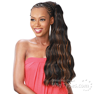 Model Model Glance Synthetic Braid - SOFT LOOSE WAVE 24