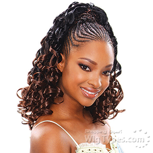 Model Model Glance Synthetic Braid - TEMPLE CURL