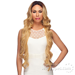 Harlem 125 Synthetic X-tra Long Lace Front Wig - LL002