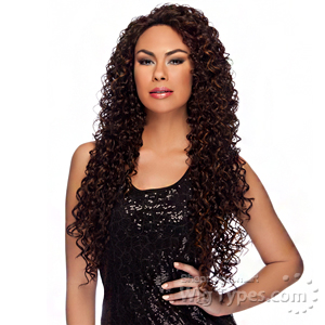 Harlem 125 Synthetic X-tra Long Lace Front Wig - LL006