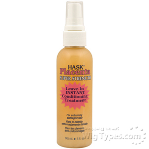 Hask Placenta Leave-In Instant Hair Conditioning Treatment Super 5oz