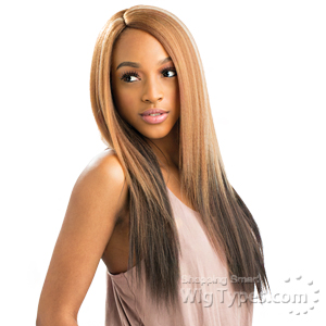 Heysis Synthetic Hair Invisible Deep Part Wig - LOVE
