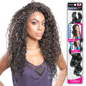 Isis Red Carpet Synthetic Caribbean Bundle Braid - DOMINICAN DEEP WAVE