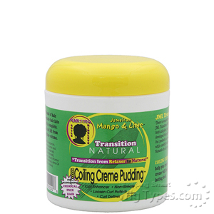 Jamaican Mango & Lime Transition Natural Coiling Creme Pudding 6oz