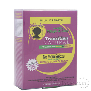 Jamaican Mango & Lime Transition Natural No More Relaxer Thermo Control Serum - Kit