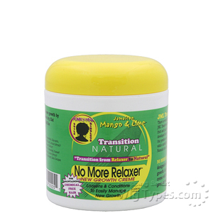Jamaican Mango & Lime Transition Natural No More Relaxer New Growth Creme 6oz
