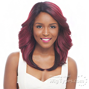 Janet Collection Human Hair Blend Brazilian Scent Lace Front Wig - HAGELL