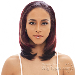 Janet Collection Synthetic Hair Half Wig - NEW EASY QUICK EDITH