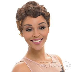 Janet Collection Natural Super Flow Deep Part Lace Wig - MAMAMIA