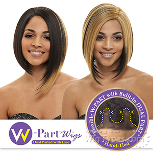 Janet Collection W Part Synthetic Lace Front Wig - HESTINA