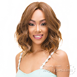 Janet Collection Natural Super Flow Deep Part Lace Wig - LUNA