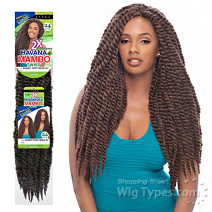 Janet Collection Synthetic Braid - Havana  2X MAMBO TWIST BRAID 24