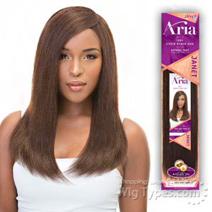 Janet Collection 100% Virgin Human Hair Weave - ARIA YAKY WVG 16