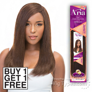 Janet Collection 100% Virgin Human Hair Weave - ARIA YAKY WVG (buy 1 Get 1 Free)
