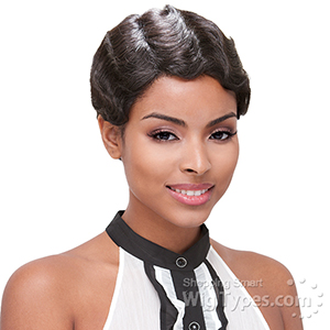 Janet Collection Remy Human Hair Wig - MOMMY