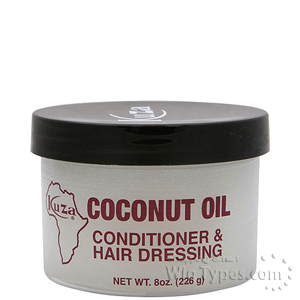 Kuza Coconut Oil Conditioner & Hair Dressing 8oz