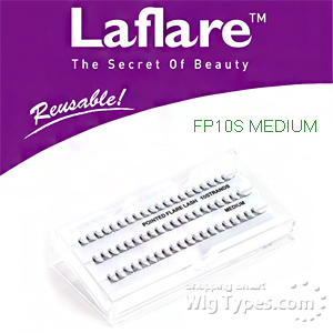 Laflare Artisanal Feather Pointed Silk Individual Lash - FP10S MEDIUM